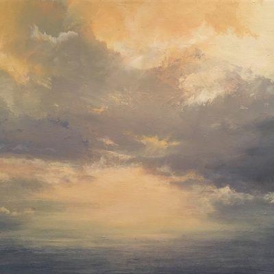 "Cayman Morning, Oil on Linen, 16"" x 20"""