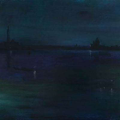 "Another Venetian Night, Oil on Linen, 18"" x 24"""
