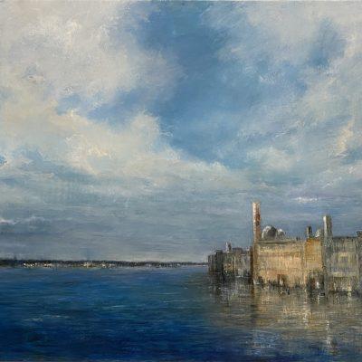 """Dreams of Venice, 3 Oil on Board 24""""x 36"""""""